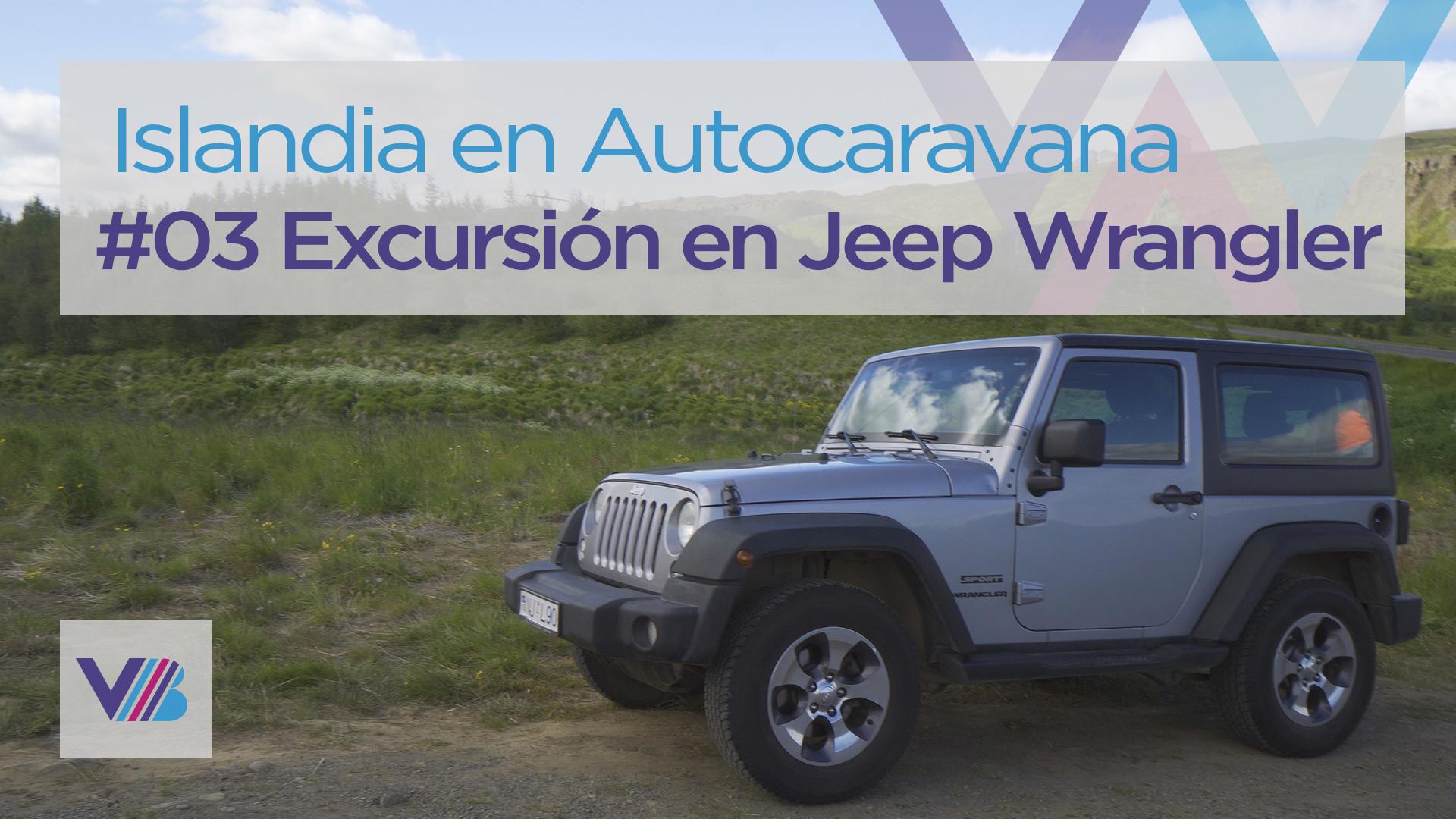 Excursión en Jeep Wrangler por Islandia